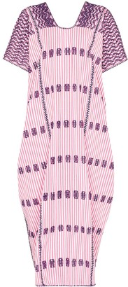 Pippa Holt striped maxi kaftan dress