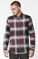 Ezekiel Jakey Plaid Flannel Long Sleeve Button Up Shirt