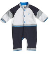 Armani Junior Infant Boy's Colorblock Track Romper