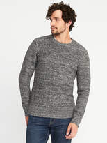 Old Navy Soft Textured Crew-Neck Sweater for Men