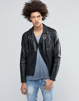Cheap Monday Triple A Leather Jacket