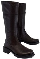 La Canadienne Brown Leather Boots