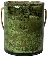 Nobrand No Brand Mercury Filled Candle Votive - Green