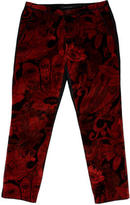 Marc Jacobs Velvet Cropped Pants w/ Tags