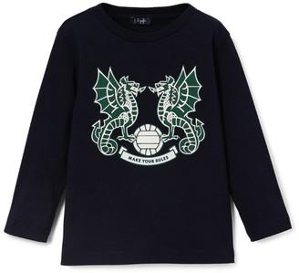 Il Gufo Dragon Crest T-Shirt (3-12 Years)