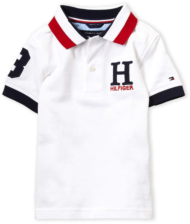 a4b4c9d6 Tommy Hilfiger White Boys' Polos - ShopStyle