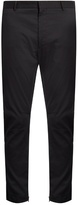 Lanvin Zip-cuff Stretch-twill Biker Trousers