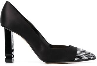 Sergio Rossi Super Heel crystal-embellished pumps