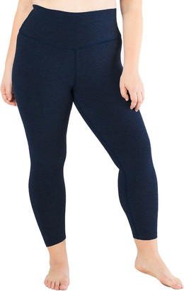 Beyond Yoga Plus Size High-Waist Space-Dye Midi Leggings