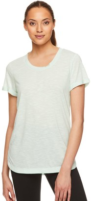 Gaiam Women's Layla Roll-Cuff Tee