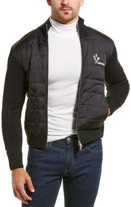 Moncler Puffy Wool-Blend Jacket