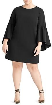 Rachel Roy Plus Bette Bell Sleeve Mini Dress
