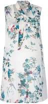 Yumi Sleeveless Floral Print Tunic