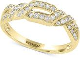 Effy Diamond Ring (1/4 ct. t.w.) in 14k Gold, White Gold or Rose Gold