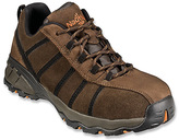 nautilus safety footwear Men's 1708 Full Grain Leather Suede EH Safety Shoe