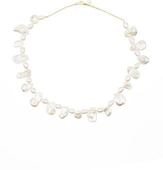 Anissa Kermiche Shelley baroque pearl necklace