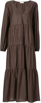 Matteau Tiered Midi Dress