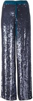P.A.R.O.S.H. sequin palazzo pants