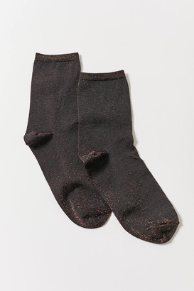Glitter Crew Sock
