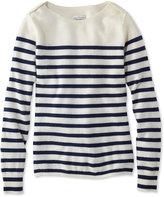 L.L. Bean Signature Cashmere Boatneck Sweater, Stripe