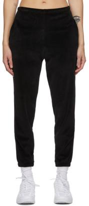 Gil Rodriguez Black Velour Beachwood Lounge Pants