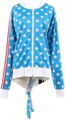 Jeremy Scott Pour Adidas Blue Polyester Jackets