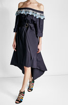 Peter Pilotto Cotton Dress with Belted Waist
