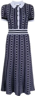 Gabriela Hearst Elvis knitted shirt dress