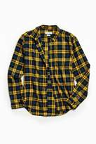 Urban Outfitters Plaid Flannel Button-Down Shirt