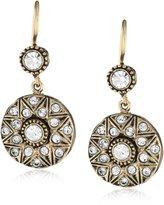 """Azaara Crystal"""" Moselle Drop Earrings"""
