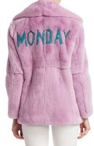 Alberta Ferretti Fur Monday Jacket