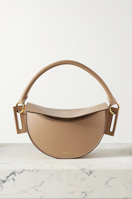 Yuzefi Dip Leather Shoulder Bag - Tan