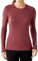 Smartwool NTS 250 Pattern Base Layer Top - Merino Wool, Crew Neck, Long Sleeve (For Women)