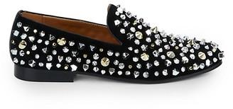 Saks Fifth Avenue Sandro Multi-Studded Leather Loafers