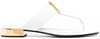 Balmain B applique sandals