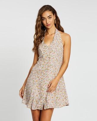 ROLLA'S Halter Coast Floral Dress