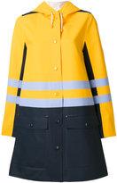 Marni x Stutterheim rain coat - women - Cotton/Polyester/PVC - S