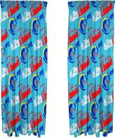 Disney 2 Childrens/Boys Official Lightning McQueen Curtains (One Size)