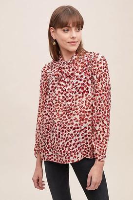 MUNTHE Jadyn Leopard-Print Blouse