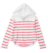 Ralph Lauren Striped Jersey Hooded Top