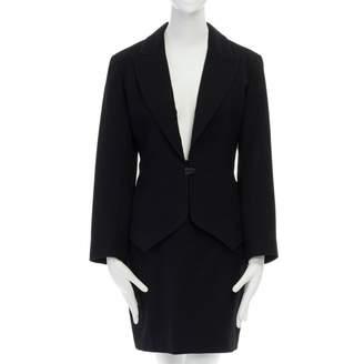 Alaia Black Wool Dress for Women