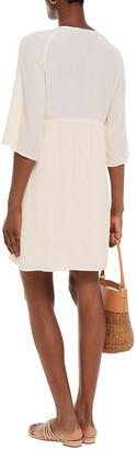 BA&SH Fiby Crepe Mini Dress