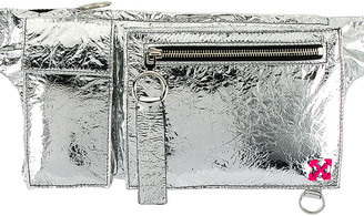 Off-White Pockets Fanny Pack in Silver | FWRD