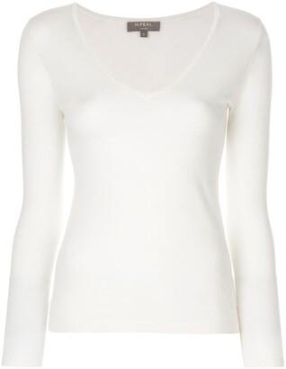 N.Peal superfine V-neck jumper