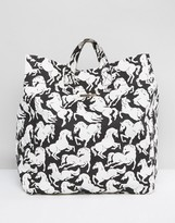 Stella-McCartney-Lingerie Stella McCartney Lingerie Stella McCartney Horses Beach Bag