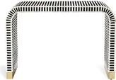 """Interlude Beacon 44"""" Console Table Color: Black"""