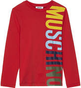 Moschino Big Logo Long-sleeved Top 4-14 Years