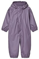 Mini A Ture Purple Heart Reinis Rain Suit
