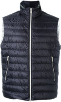 Fay padded gilet - men - Polyamide/Feather - S