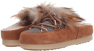 Moon Boot r) Far Side Sabot Faux Fur (Whiskey) Women's Boots